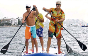 4 Person Stand Up Paddleboard - Sydney Harbour