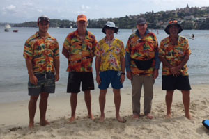 The team at Rose Bay Aquatic Hire