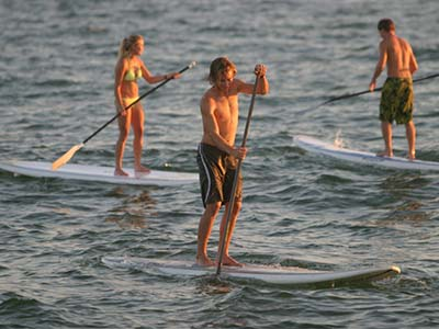 Sydney Harbour Stand Up PAddleboard Hire - Rose Bay Aquatic